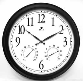 Infinity Instruments Indoor & Outdoor The Definitive Indoor & Outdoor Wall Clock