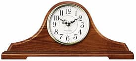 Infinity Instruments Wrought Iron Oak Tambour Clock With Chime