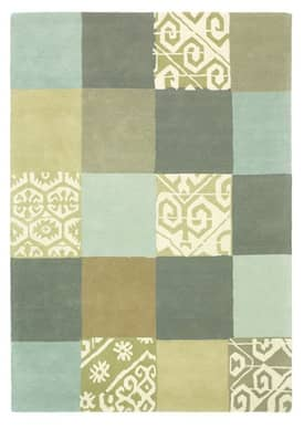 Rugs USA Serendipity Contemporary Handmade Wool Quilt Rug