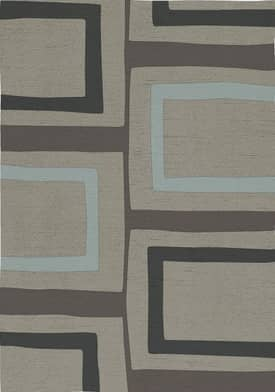 Rugs USA Serendipity Contemporary Hand Knotted Wool Squares Rug