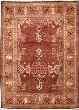 Rugs USA Peshawar Traditional Hand Knotted Kashan Rug