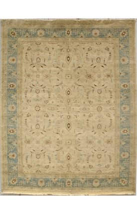 Rugs USA Peshawar Hand Knotted Vegetable Dyed Mattani Rug