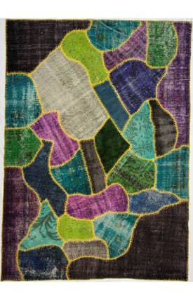 Rugs USA Overdye Patchwork Lamia Rug