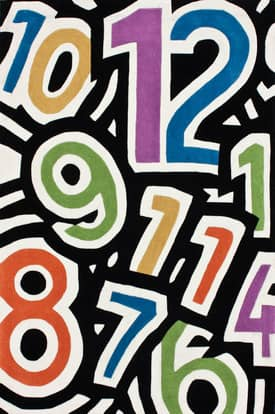 Rugs USA Keno Fun Numbers Rug
