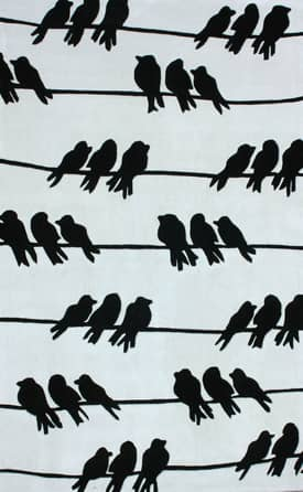 Rugs USA Keno Birds on a Wire Rug