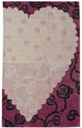 Rugs USA Keno Heartful Rose Rug