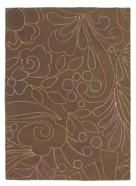 Rugs USA Serendipity Contemporary Handmade Chic Floral Lines 86903 Rug