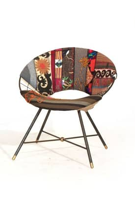 Rugs USA Boho Chic Solar 2 Patchwork Chair Furniture