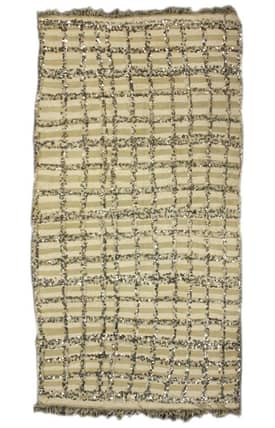 Rugs USA Moroccan Dover Wool Hand Knotted Shawl Rug