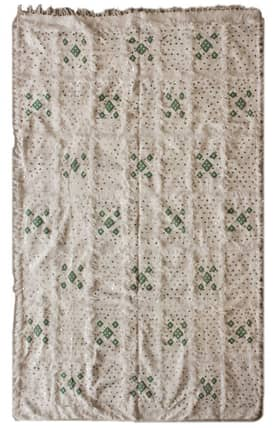 Rugs USA Moroccan Deco Wool Hand Knotted Shawl Rug
