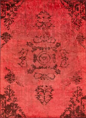 Rugs USA Reclaimed Vintage Summeya Overdye Rug