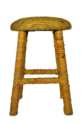 Rugs USA Contempo Living Sari Silk Bar Stool Furniture