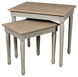 Rugs USA Olympia Wedya Traditional Nesting Tables Furniture
