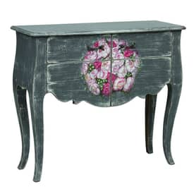 Rugs USA Modern Classics Florentin 2 Door Floral Console Furniture