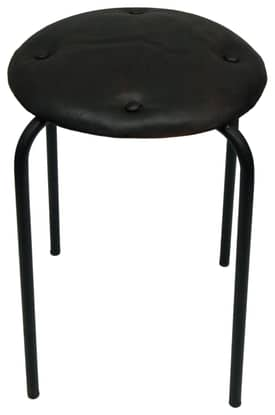 Rugs USA Nottinghill Leather Seat Stool Furniture