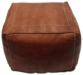 Rugs USA Nottinghill Leather Pouf Furniture