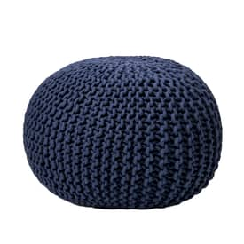Rugs USA Poufs Knitted Round Pouf Furniture