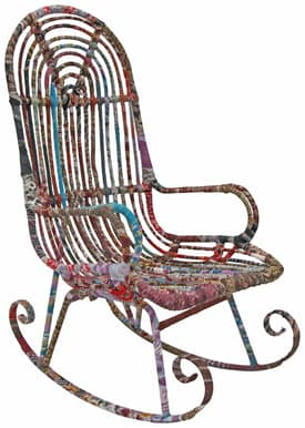 Rugs USA Boho Chic Modern Rocking Chair Furniture