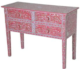 Rugs USA Ethno Mother of Pearl Console Chest Furniture