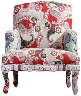 Rugs USA Ethno Paisley Arm Chair Furniture