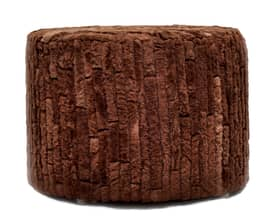 Rugs USA Elements Cowhide Pouf Furniture