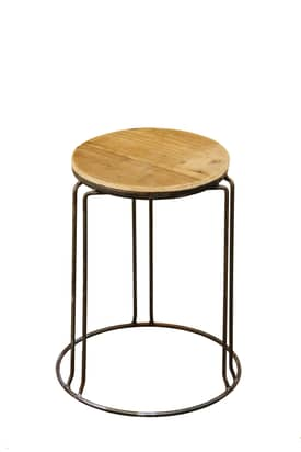 Rugs USA Lighthouse Modern Iron Bar Stool Furniture
