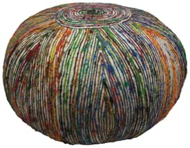 Rugs USA Ottomans Sari Silk Genie Pouf Furniture