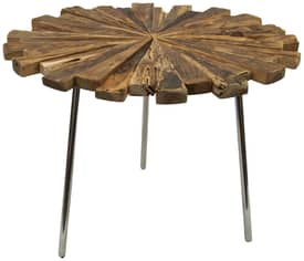 Rugs USA Ephesus Teak Wood Accent Table Furniture