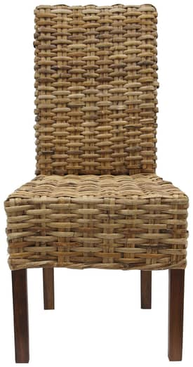Rugs USA Ephesus Rattan Weave Dining Chairs (Set of 2) Furniture