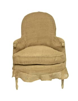 Rugs USA Golden Gate Cozy Linen Armchair Furniture