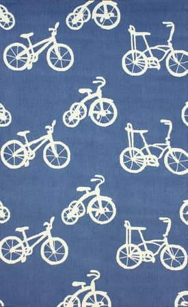 Rugs USA Homespun Bicycle Rug