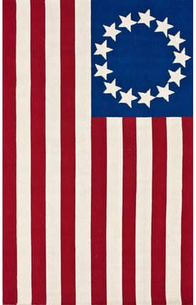 Rugs USA Homespun Flag Rug