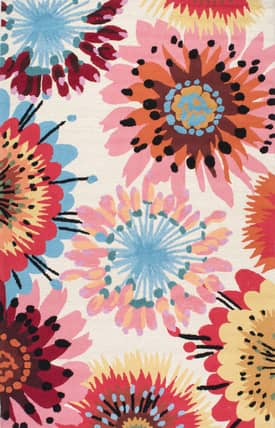 Rugs USA Fergana Floral Watercolors Rug