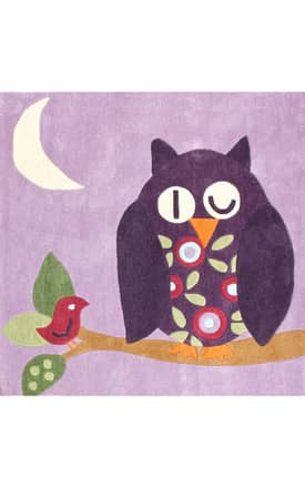 Rugs USA Fergana Friendly Owl Rug