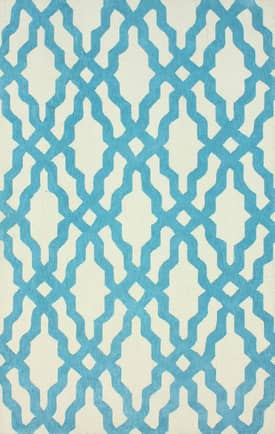 Rugs USA Elegance Cotton and Wool Trellis VST28 Rug