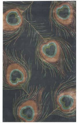 Rugs USA Luxury Moderno Moderne Peacock Rug