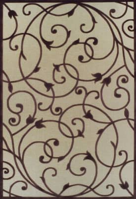 Rugs USA Serendipity Contemporary Scroll Iron Gate Rug