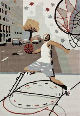 Rugs USA Trendz Street Basketball Rug