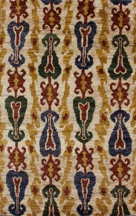 Rugs USA Aguada Essex Ikat Hemp Hand Knotted Rug