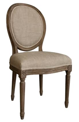 Rugs USA Casual Living Vintage French Round Back Chair (Set of 2) Furniture