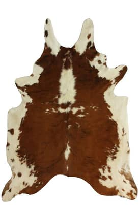 Rugs USA Natural Tricolor Cowhide Rug