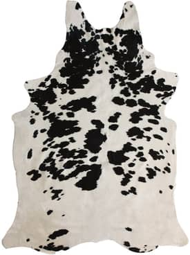 Rugs USA Natural Black & White Cowhide Rug