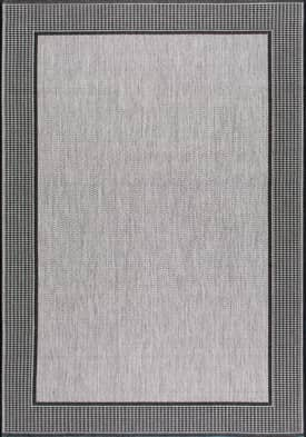 Rugs USA Aperto Outdoor Gris border DN05 Rug