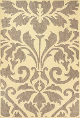 Rugs USA Aperto Outdoor Damask Rug