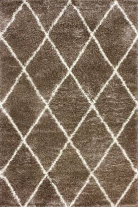Rugs USA Moroccan Diamond Shag Rug