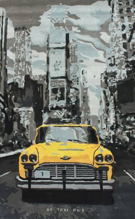 Rugs USA Marquis New York City Taxi Rug