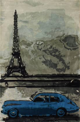 Rugs USA Marquis Paris Eiffel Tower Rug