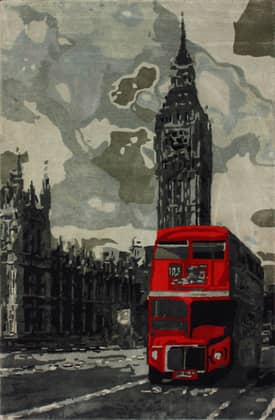 Rugs USA Marquis London Bus Rug