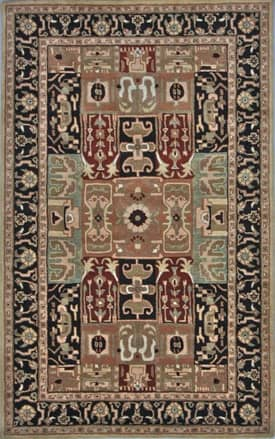 Rugs USA Royale Gardens Traditional Handmade Wool Panel Rug