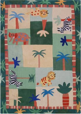Rugs USA Cradle Jungle Safari Rug